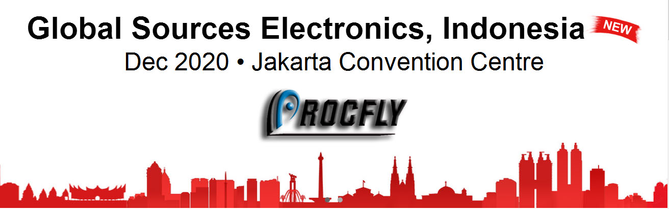 ROCFLY WILL MEET YOU AT THE JAKARTA ELECTRONIC EXHIBITION IN INDONESIA ON DECEMBER 2020