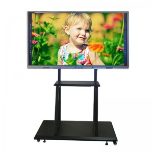 KER factory High Quality 55″ 65″ 75″86″ Android or Windows OS IR touch or Capacitive touch Smart Interactive Whiteboard for Classrooms teaching or meeting rooms