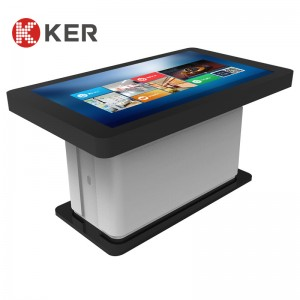 42″ Intelligent tea table LCD touch screen computer inquiry machine touch tea table