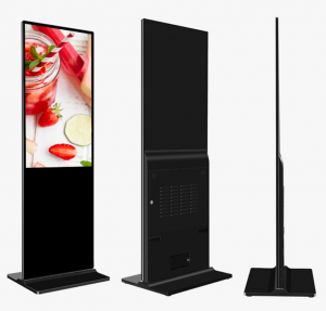 55 Inch Advertising Monitor Screen Digital Signage Kiosk