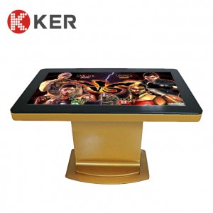 Intelligent tea table LCD touch screen computer inquiry machine touch tea table