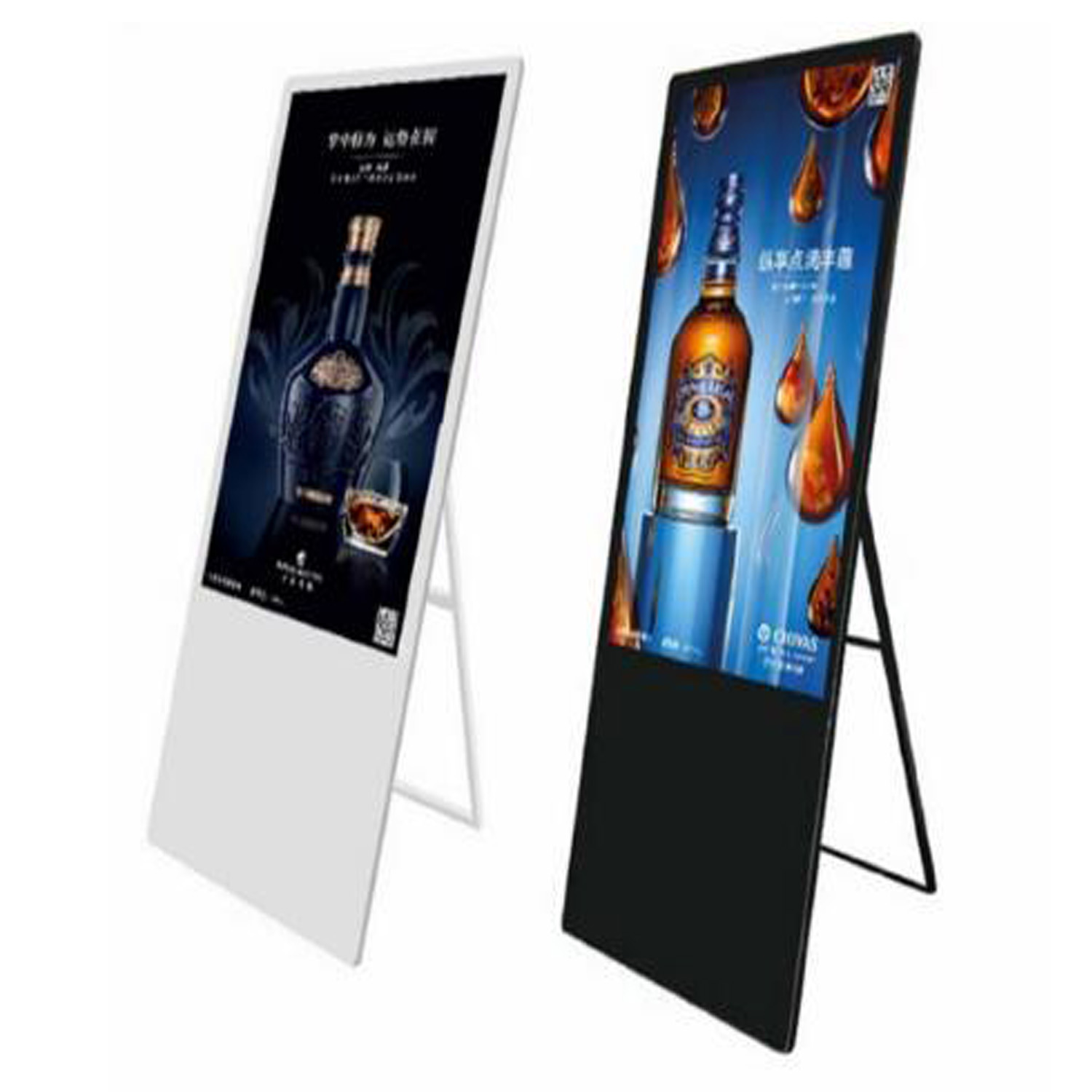 43inch portable 3g 4g wifi capacitive touch lcd advertising display digital signage for retail shop Featured Image