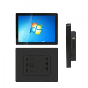 KER továrna 15 17 19 inch industrial grade all in one PC dotykový monitor a počítač pro vlastní servisní kiosku