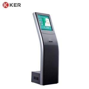 17″Floor-standing information queue kiosk