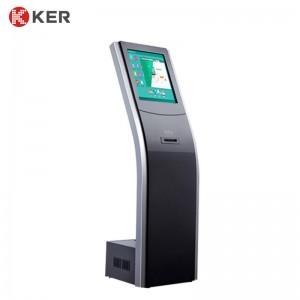 17″Floor-standing information queue kiosk