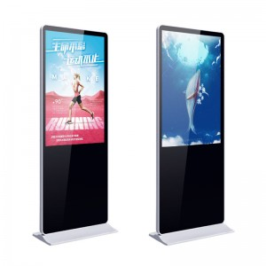 KER Factory Customized Android or Windows 43″ 49 55 65 inch indoor vertical floor stand alone digital signage advertising players