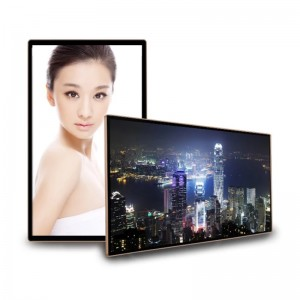 KER Factory 15.6 21.5 27 32 43 49 55 65 inch wall Mount Digital Signage Lcd Monitor Usb Media Player For Advertising