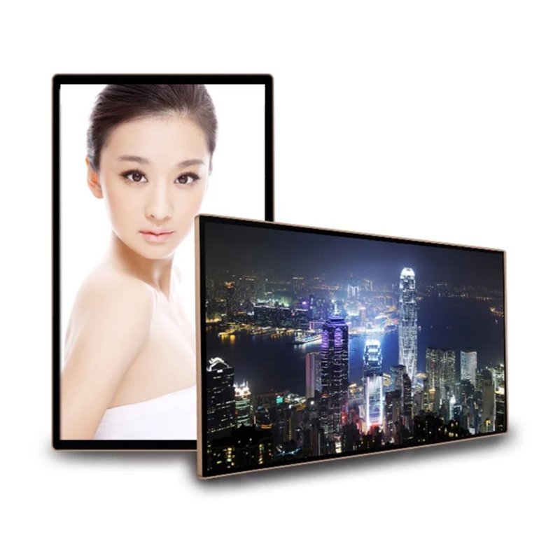 KER Factory 15.6 21.5 27 32 43 49 55 65 inch wall Mount Digital Signage Lcd Monitor Usb Media Player For Advertising Featured Image