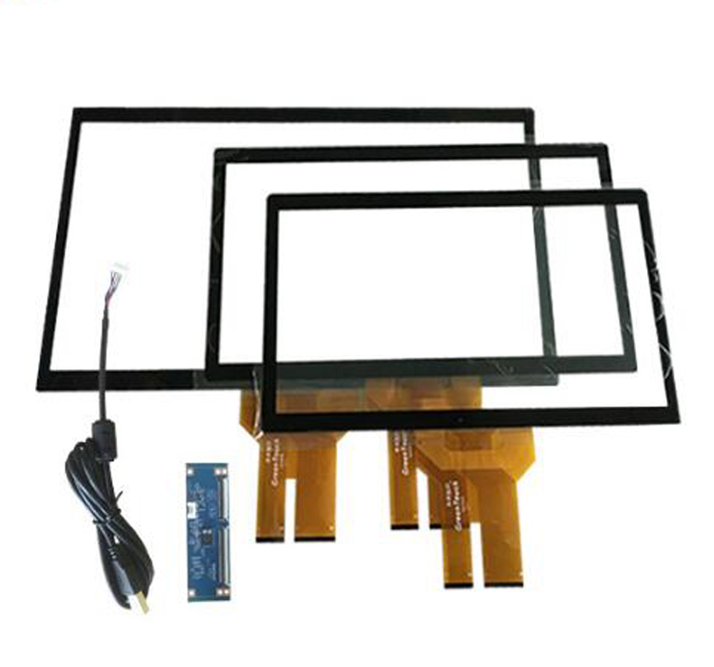 Customize different sizes 17 19 21.5 27 32 43 55 65 inch PCAP projected capacitive touch panels  for computer and kiosk Featured Image
