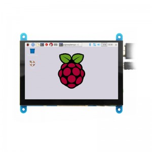 5 inch 800×480 Capacitive Touch Screen HDMI LCD Display for Raspberry Pi 2 3 B+